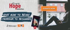 Give Now to Bring Freedom to Prisoners...