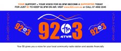 92.3 FM Supporter