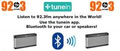 @tunein to 92.3 FM Online